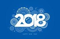 Bonnes fêtes de fin d'année et bonne année 2018